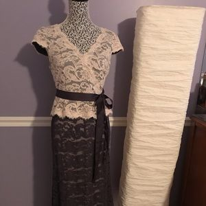 Adrianna Pappell formal lace dress